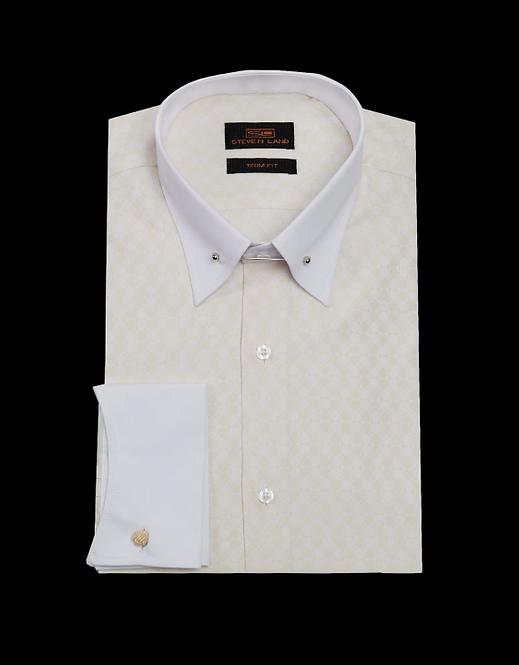 TW1711 | Dress Shirt | French Cuff | Collar Bar |
