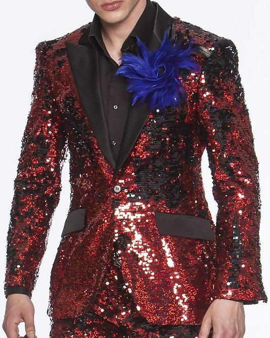 Sequin Suits, New R. Red
