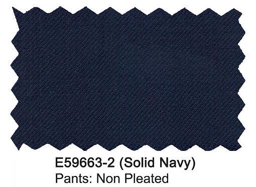 E59663-2-Enzo Pants-Solid Navy