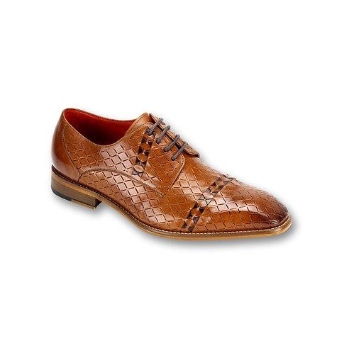 SL0013   Tan/ Ch. Brown Genuine Leather Shoe