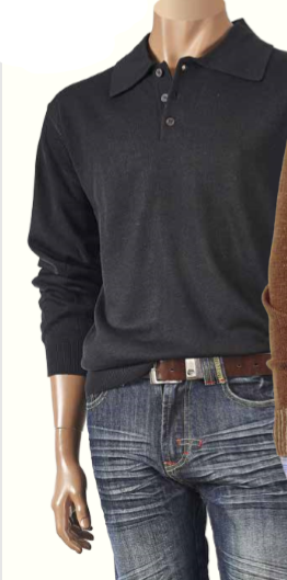 Inserch Neck Sweater