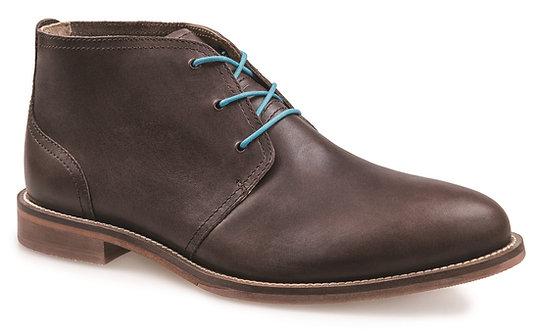J. Shoes Monarch Ambra Dark Brown Leather Chukka Boot