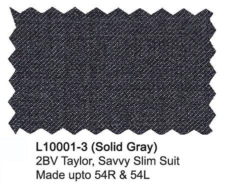 L10001-3-London Fog Suit-Gray