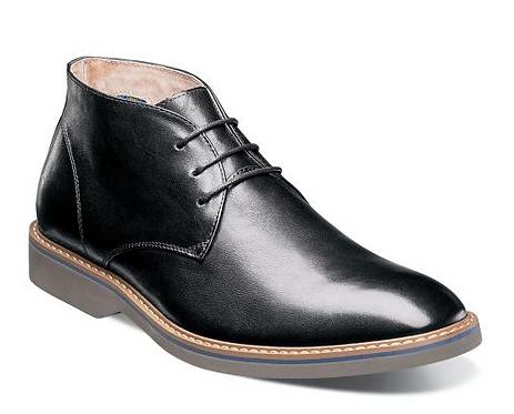 Black/Gray Boots