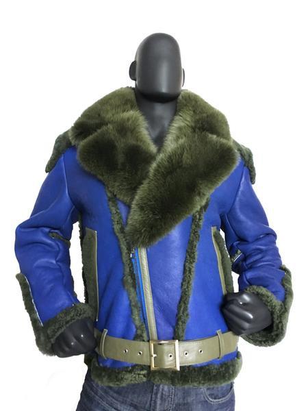 Outerwear Blue/Green