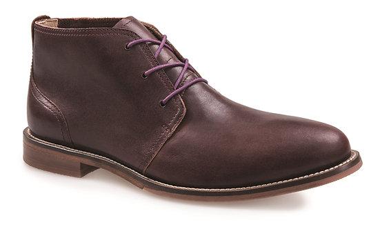 J. Shoes Monarch Ambra Raisin Leather Chukka Boot