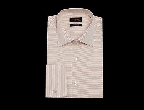 TA1720 Dress Shirt | Wide SpreadCollar | French Square Cuff | Color Sand
