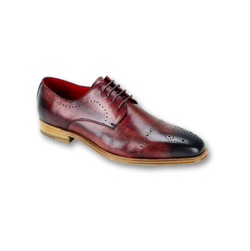 SL0001 | Sangria Red Genuine Leather