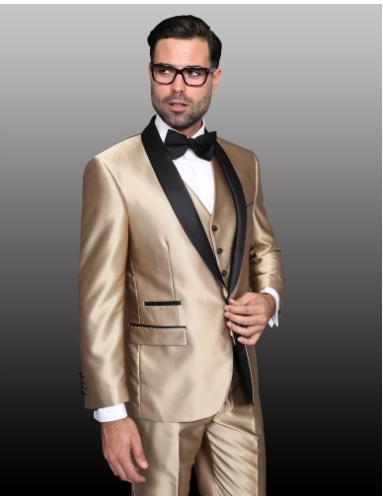 Champagne Suit