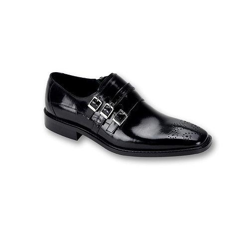 SL0012 Black Genuine Leather Shoe