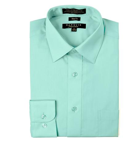 slim fit dress shirt Wintergreen