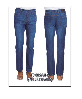 Thomas-2 Blue Denim