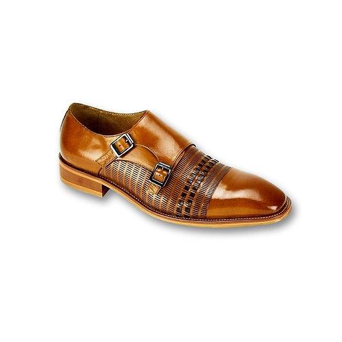 SL0015 | Scotch / Ch. Brown Genuine Leather Shoe