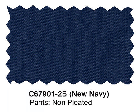C67901-2B-Carlo Lusso Pants-Navy