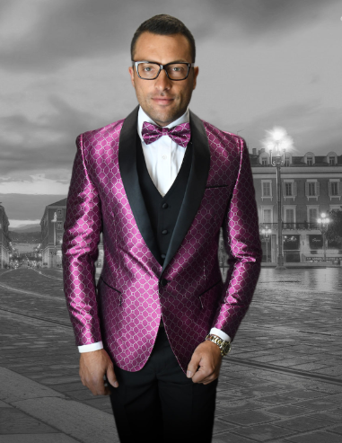 Fuschia Suit