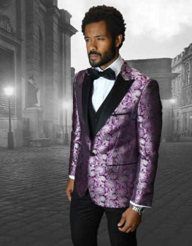 Fuschia Suit