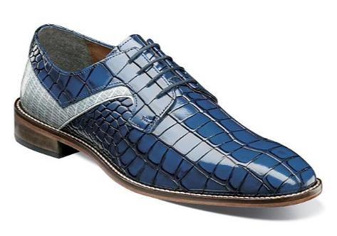 Blue Multi Shoes