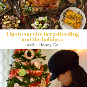 how to breastfeed during the holidays