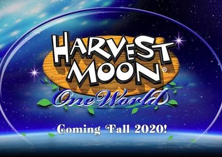 Harvest Moon: One World Announced!