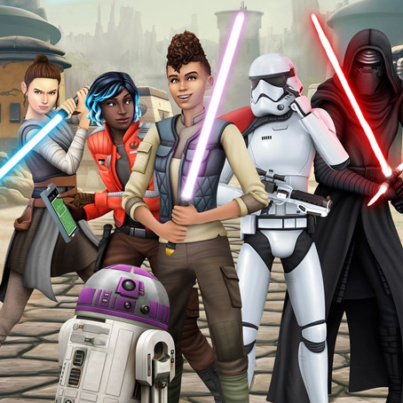 Sims 4 Star Wars Expansion