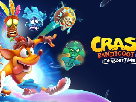 Crash Bandicoot 4 It's about time coming Oct. 2.