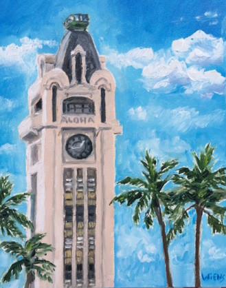 """Aloha Tower"""