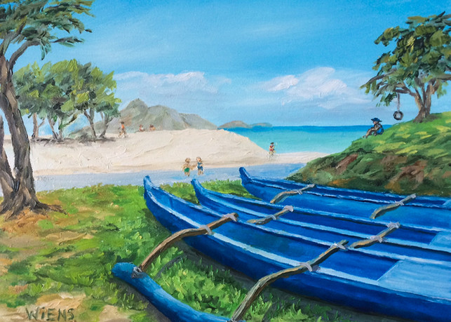 """Kailua Canoes"""