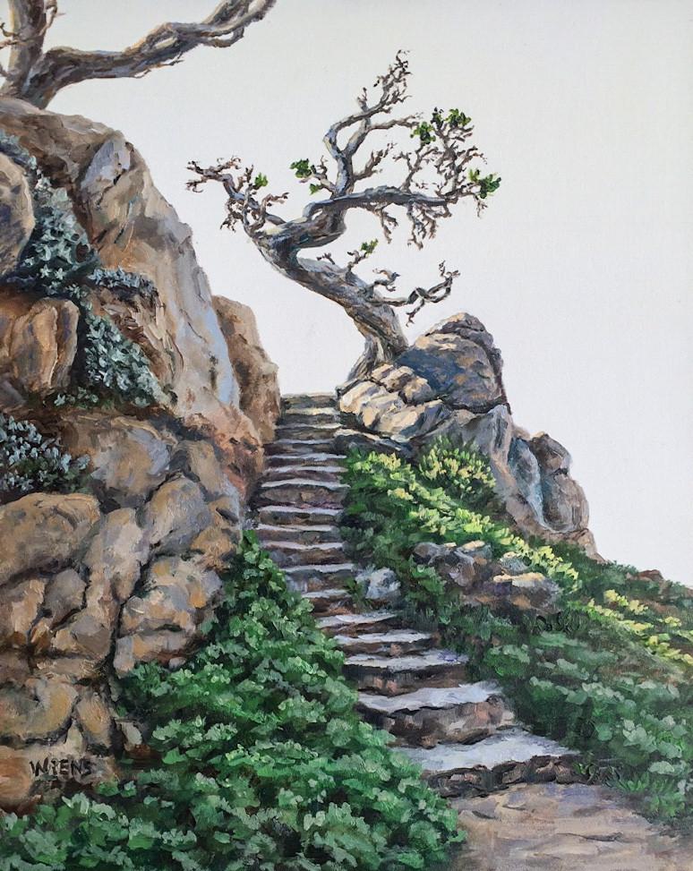 """Rocky Stairway"""