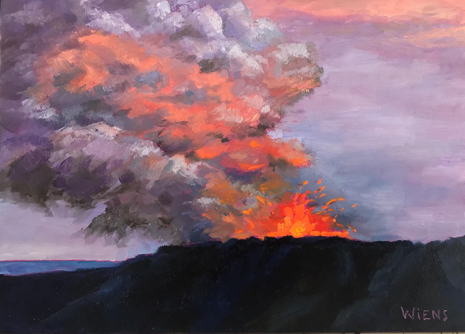 """""""Kilauea Volcano I"""""""