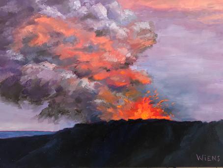 Kilauea Volcano Fury