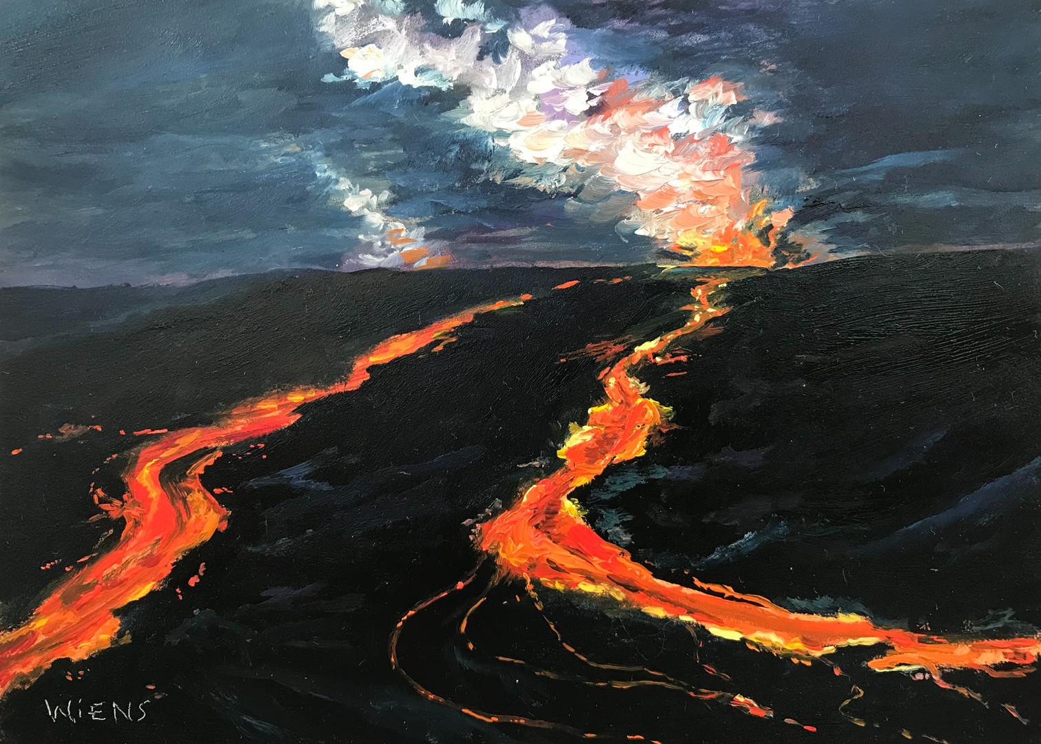 """""""Kilauea Volcano V"""""""