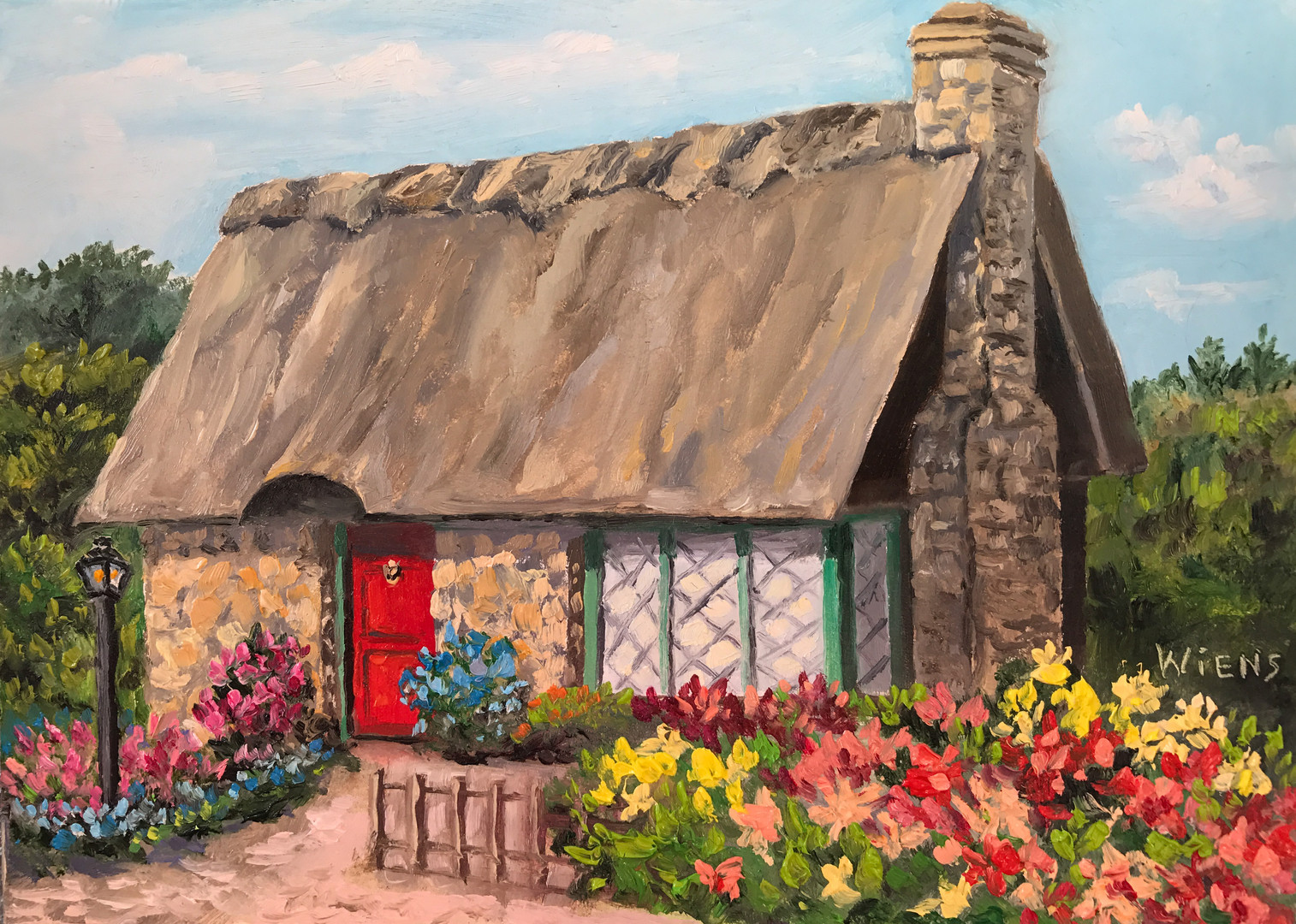 """""""Thatched Roof Cottage"""""""
