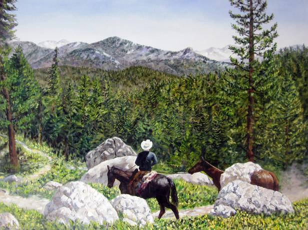 """Man on Horse"""