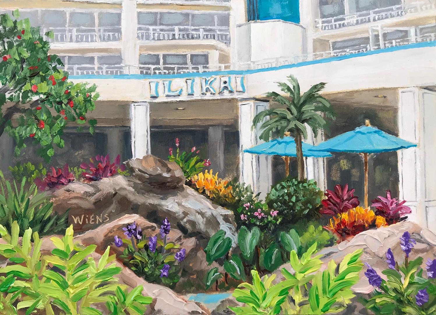 """Ilikai Hotel Gardens"""