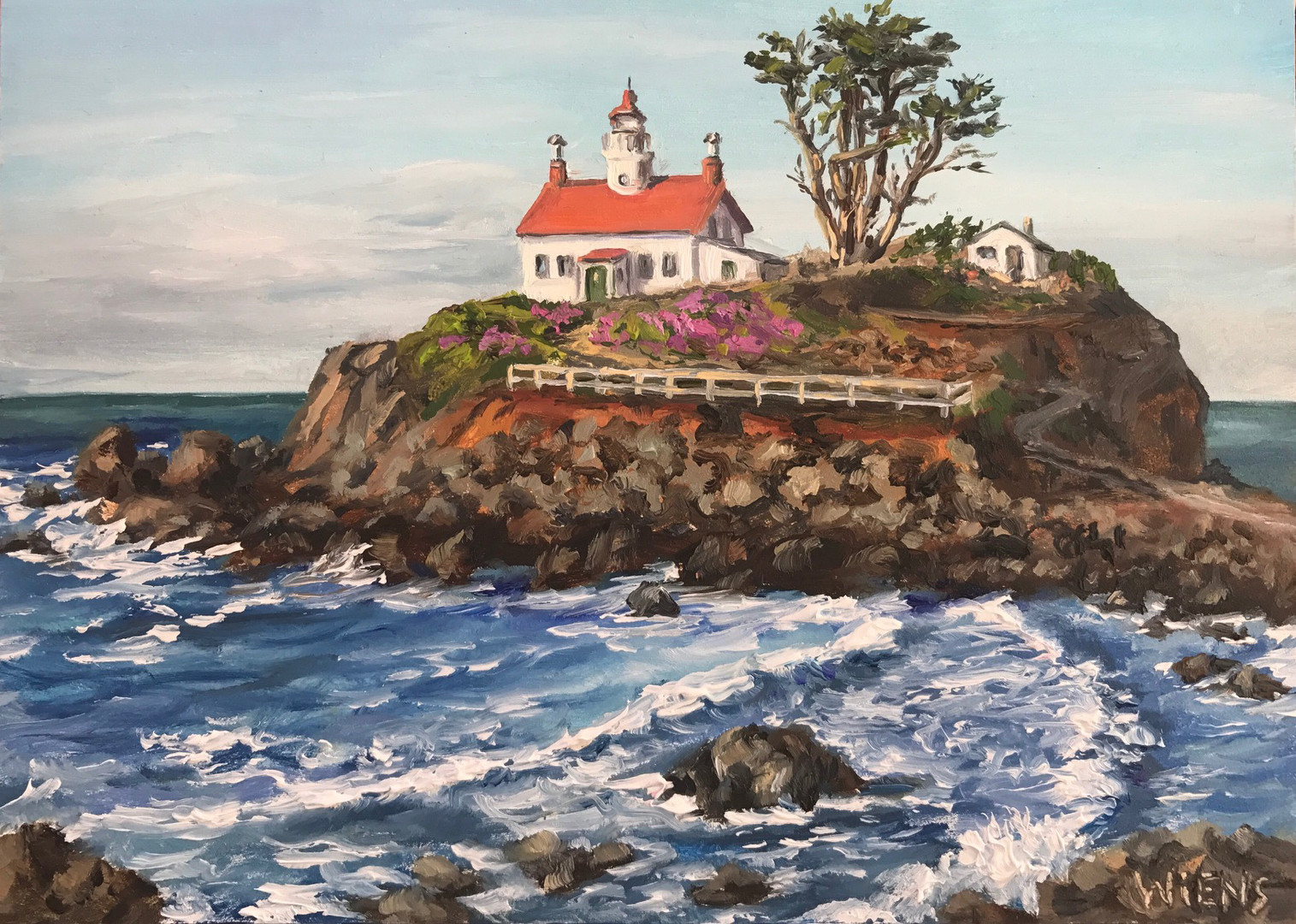 """Battery Point Lighthouse"""