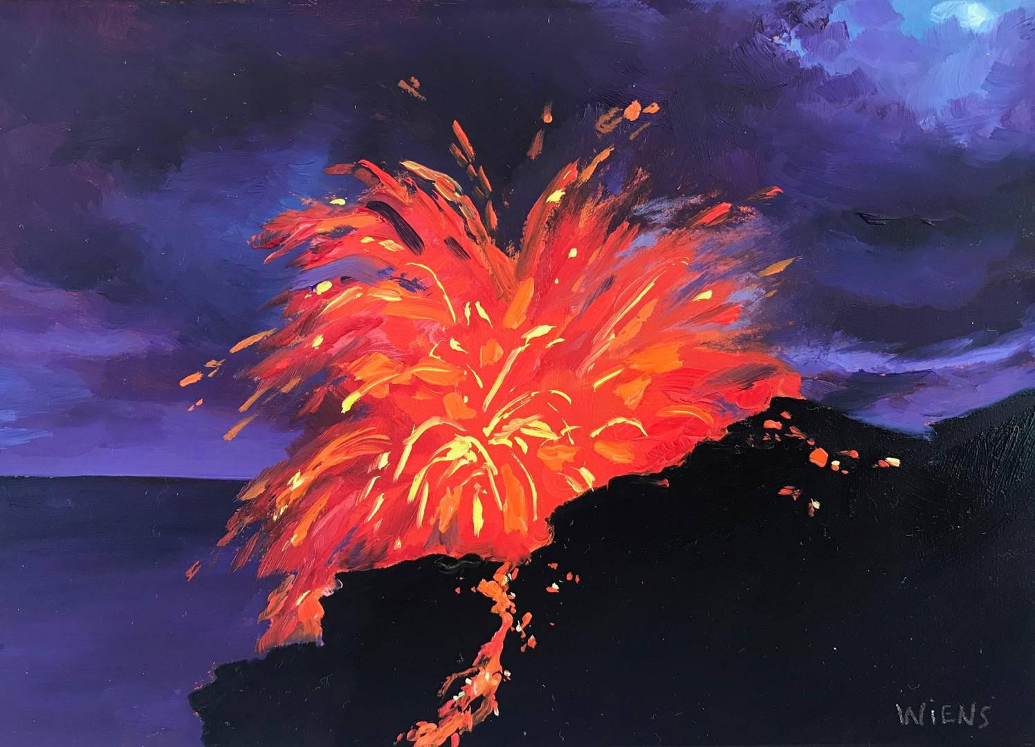 """""""Kilauea Volcano II"""""""