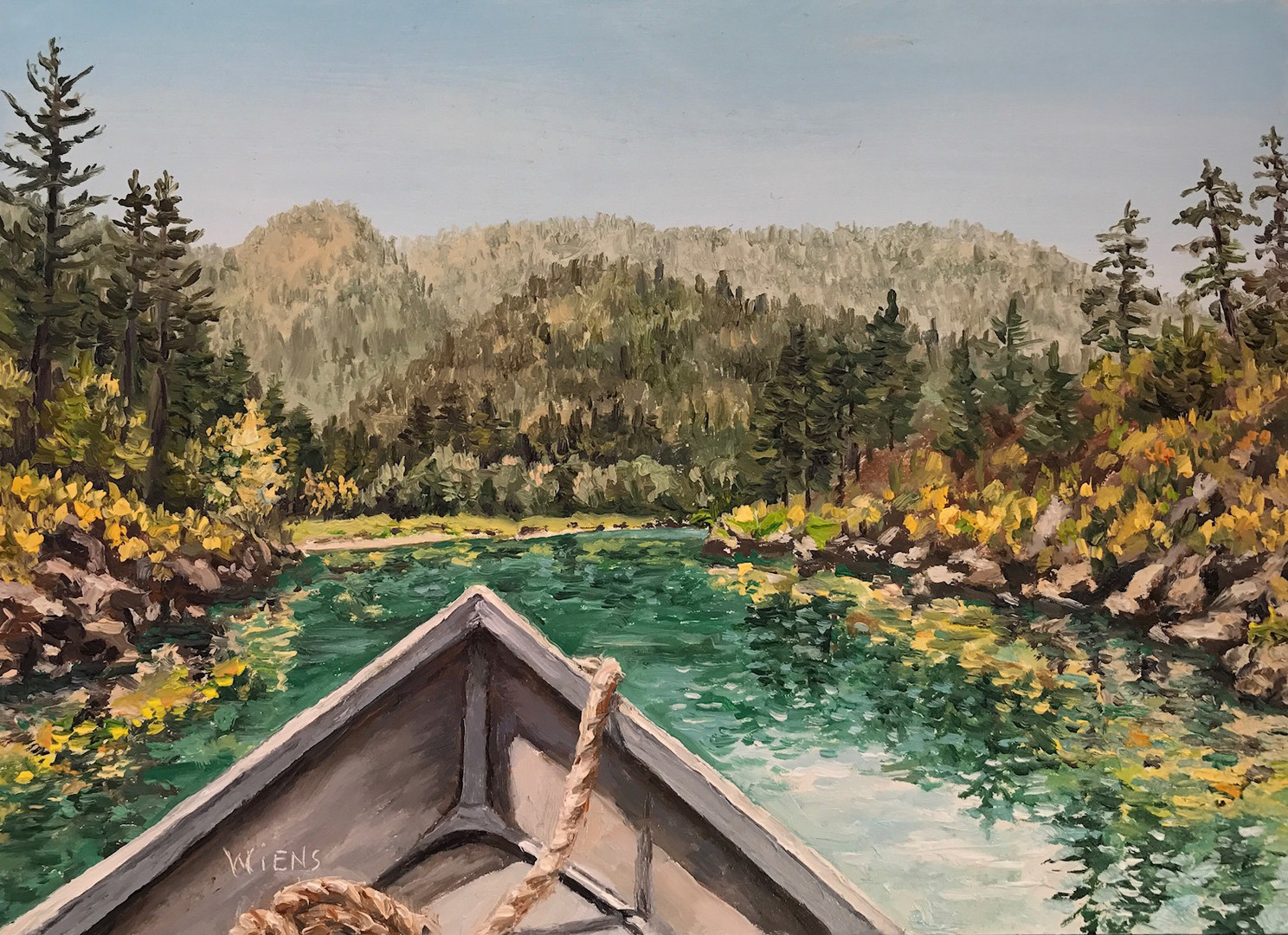 """Floating on the Smith River"""