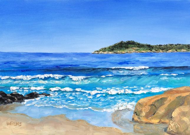 """Fogless Day at Carmel Beach"""