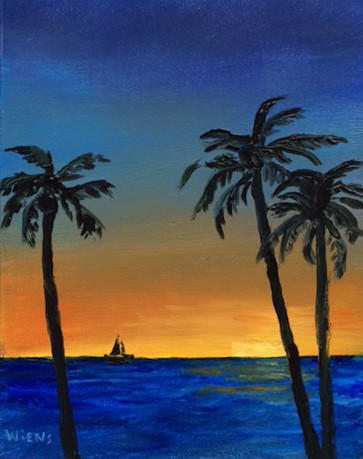 """Sunset Sail"""