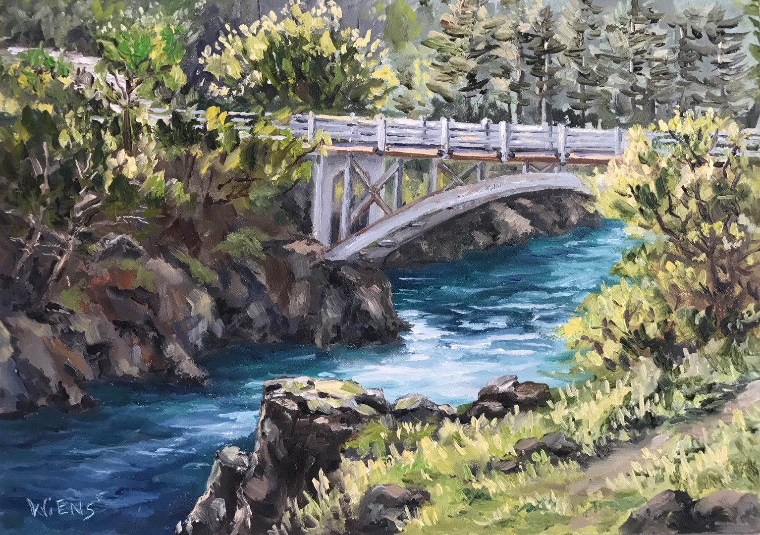 """Bridge Over Smith River"""