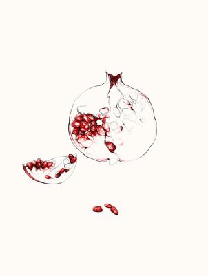 Blood. Sweat. Tears. Passion. Pomegranate