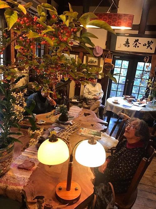 カフェスペース&お庭
