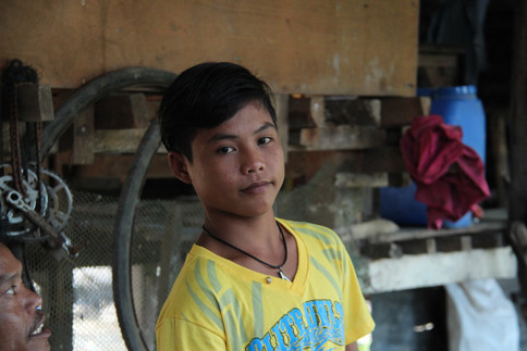 An estimated 5.5 million children aged 5 to 17 in the Philippines work - nearly 20 percent of the country's young people.