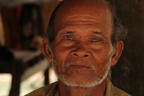 """Pen Lay is a former Khmer Rouge soldier. He feels he had no choice but to arrest villagers, many of whom were executed - a legacy that has haunted him ever since and destroyed his relationship with fellow villagers.   At least 1.8 million people - a quarter of Cambodia's population - died during the """"Killing Fields"""" regime of the Khmer Rouge in the 1970s."""