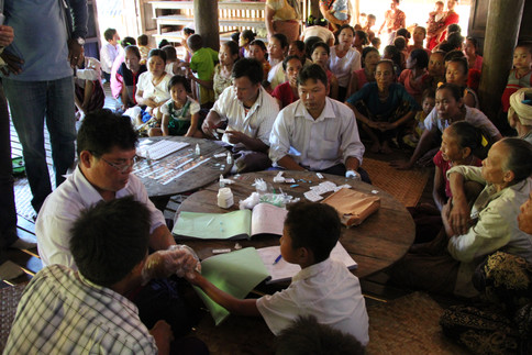Health workers are working closely with villagers to stop the mosquito-borne disease from spreading.  They use rapid diagnostic tests by taking blood samples that are sent to a lab and can establish within days whether a person has malaria.