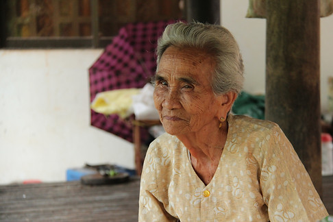 Hing Phon's husband, son and 18 other relatives were killed by the Khmer Rouge. Now in her 80s, she wants to forgive those who killed her family.  Villagers are still living side by side with the killers of their loved ones and many find it hard to accept that the guilty walk freely among them.  ​   ​​