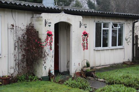 At first looked upon with suspicion by the general public, prefabs soon became very popular homes due to their amenities and clever design - and gardens, often at the front and the back.