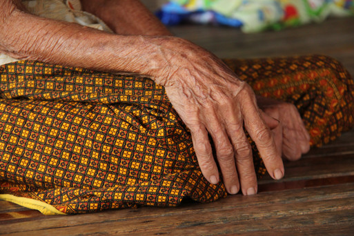 """A study found two thirds of Cambodians would like to see the perpetrators """"hurt or miserable"""" and that one third would seek revenge if they could.  Reconciliation programmes are rare due to a lack of funding for mental health.   Villagers, like Phon and Lay in Kampot province in the south, have been part of a workshop to address their grievances and forgive one another."""