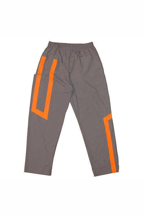 Straight Fit custom Cargos (Grey. Orange)