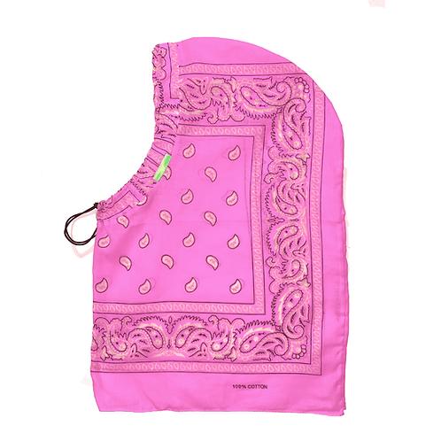 Pink Signature Bandana Hood